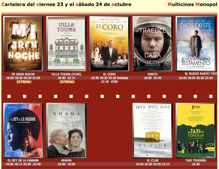 Direcciones a Cine Monopol (Las Palmas De Gran Canaria) en transporte público