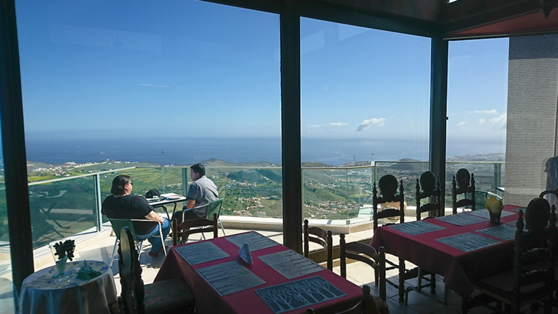 Cafetería Mirador La Caldera